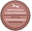 Zertifizierte Hundetrainerin Tierärztekammer Niedersachsen